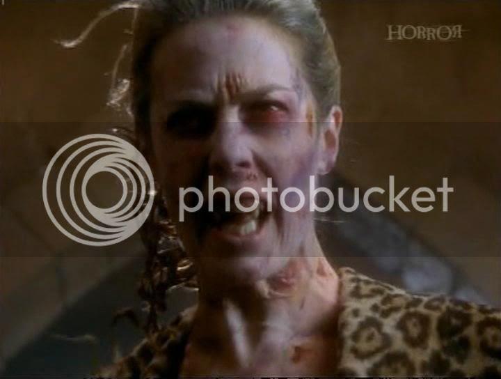 a vampire's true face?