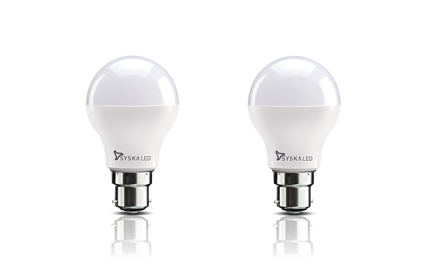 Deals on Syska Base B22 8-Watt LED Bulb