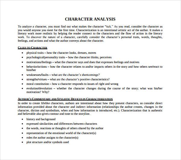 sample literary analysis essay high school pdf