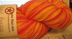 Lone Star Arts Island Paradise sock yarn