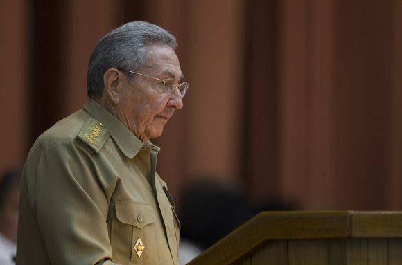 Intervensión del presidente cubano Raúl Castro Ruz en el plenario de la Asamblea Nacional. Foto: Ladyrene Pérez/ Cubadebate