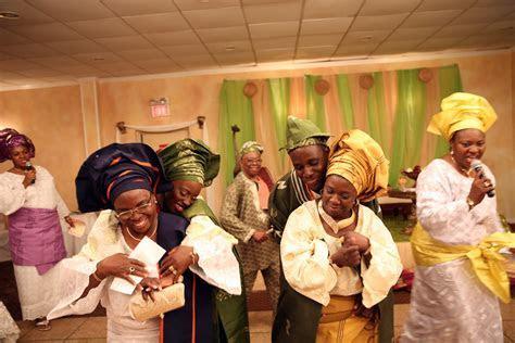 Dance Filled Yoruba Wedding Ceremony {New Jersey}   The