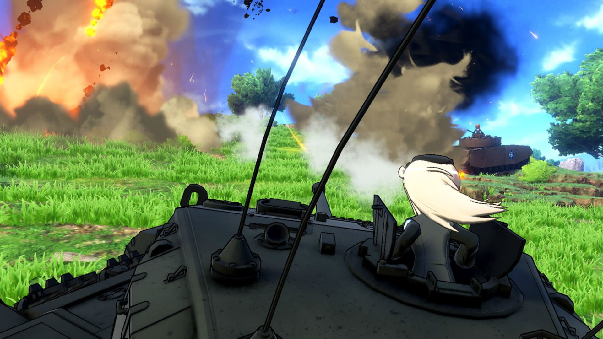 Girls und Panzer: Dream Tank Match looks like the tank game of my dreams screenshot