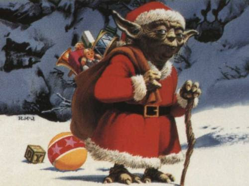 Yoda says Merry Christmas, it is.