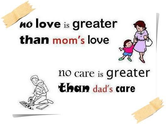 Mom Dad Love U Maa