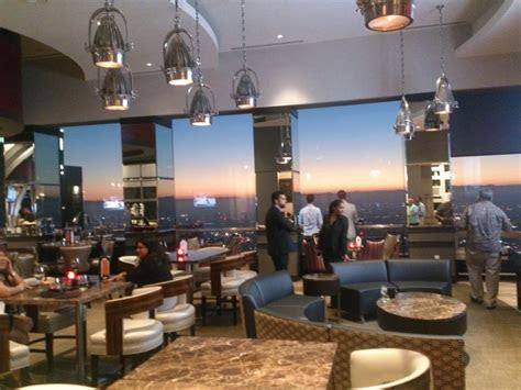 Aperture Lounge provides grand views of L.A.   Yelp