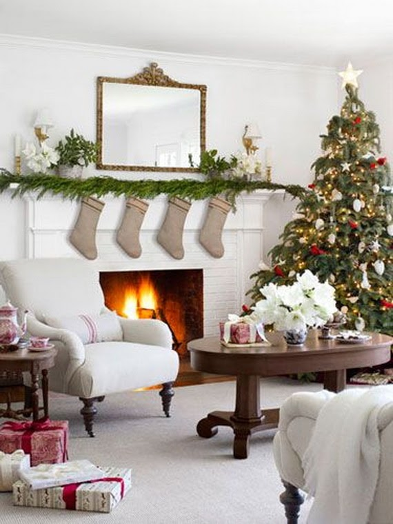 Best Of Xmas Living Room Decor Ideas images