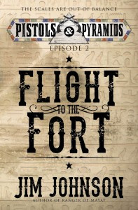 Flight to the Fort by Jim Johnson