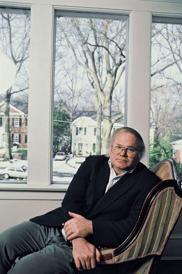 Pat Conroy, en su casa de Atlanta, el 15 de enero de 1988.