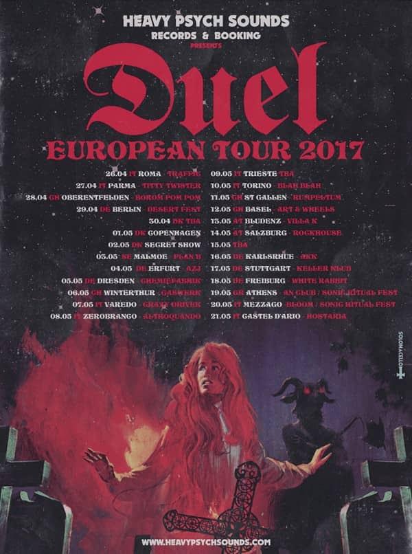 Duel European Tour Poster