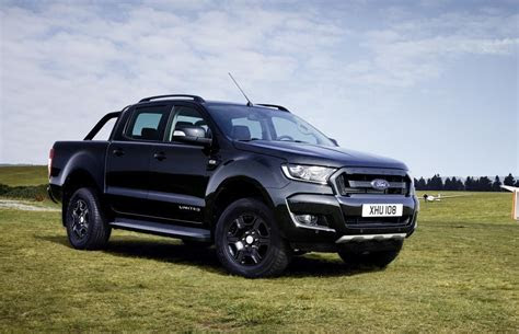ford ranger black edition announced  europe