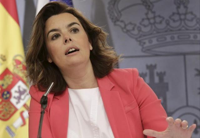 La vicepresidenta del Gobierno, Soraya Sáenz de Santamaría. | Efe