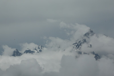 Tetons from the ILS 19 KJAC approach