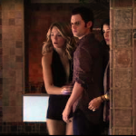 Gossip Girl - Serena wearing retro swimsuit