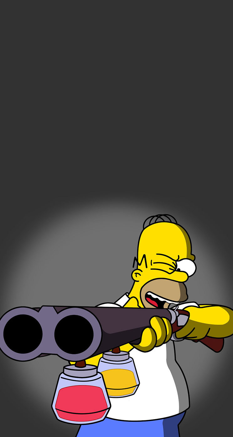 The Iphone Wallpapers Homer Simpson