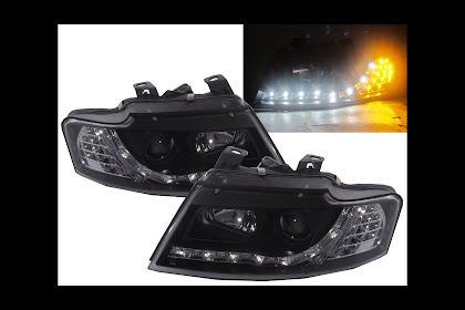 2005 Audi A4 Cabriolet Headlights