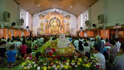 Buddhist hall