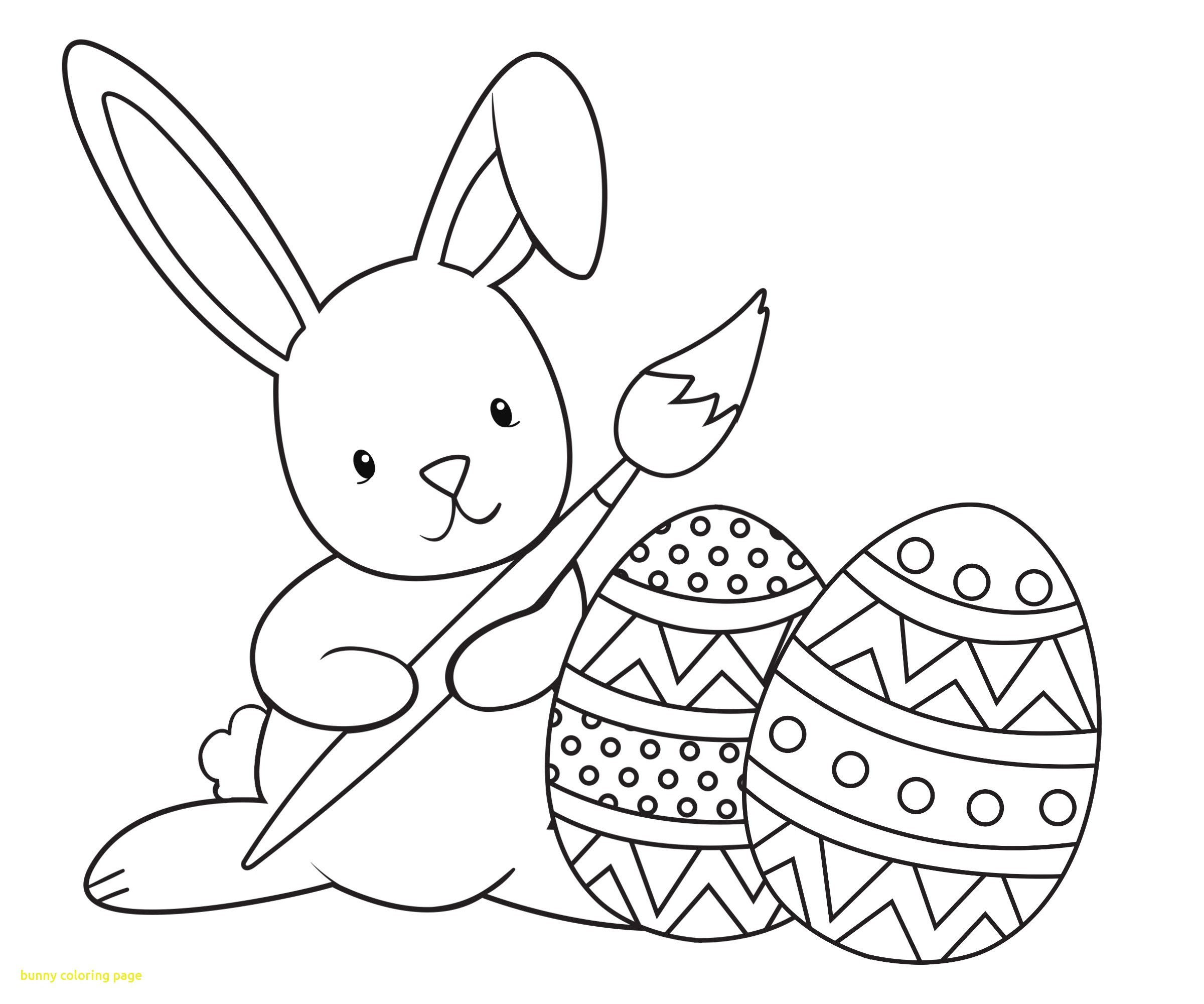 Coloring Pages Of Easter Eggs And Bunnies at GetDrawings ...