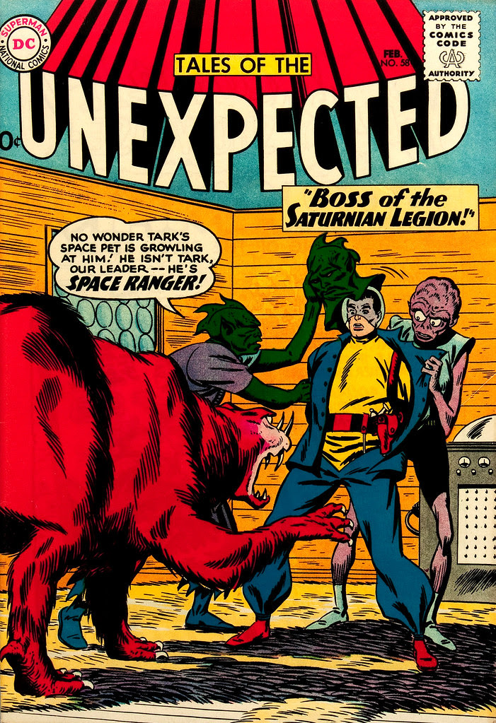 Tales of the Unexpected #58 (DC, 1961) Bob Brown cover
