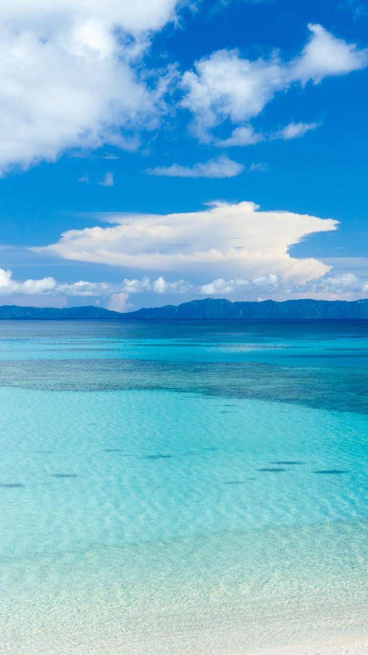 Island Beach Panoramic View 4K HD Desktop Wallpaper for 4K Ultra HD TV • Wide  Ultra Widescreen