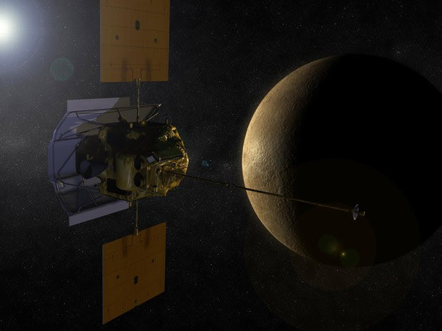 Messenger Mercúrio 3 (Foto: Nasa)