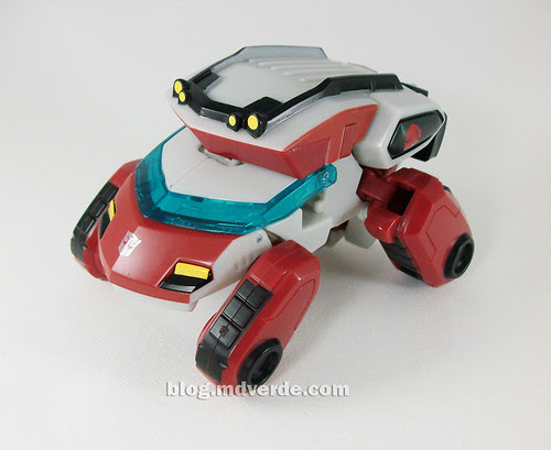 Transformers Ratchet Animated Deluxe (Cybertronian) - modo alterno