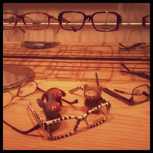 glasses and bobbaloos
