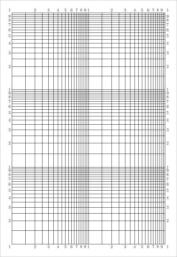 Logarithmic graph paper1