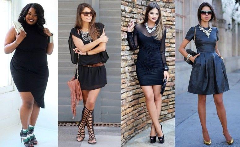 Resultado de imagem para look preto total com sapato colorido