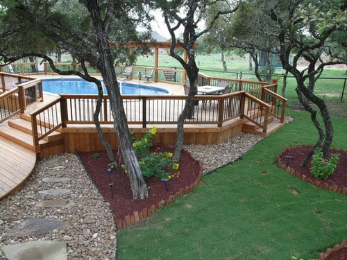 The Best Tips for Above Ground Pool Landscaping Ideas ...
