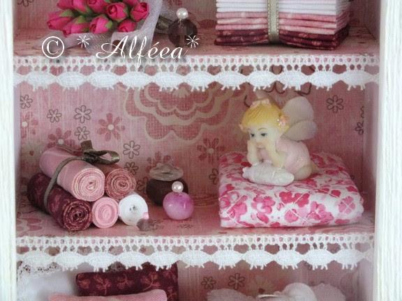 Rose... mini vitrine