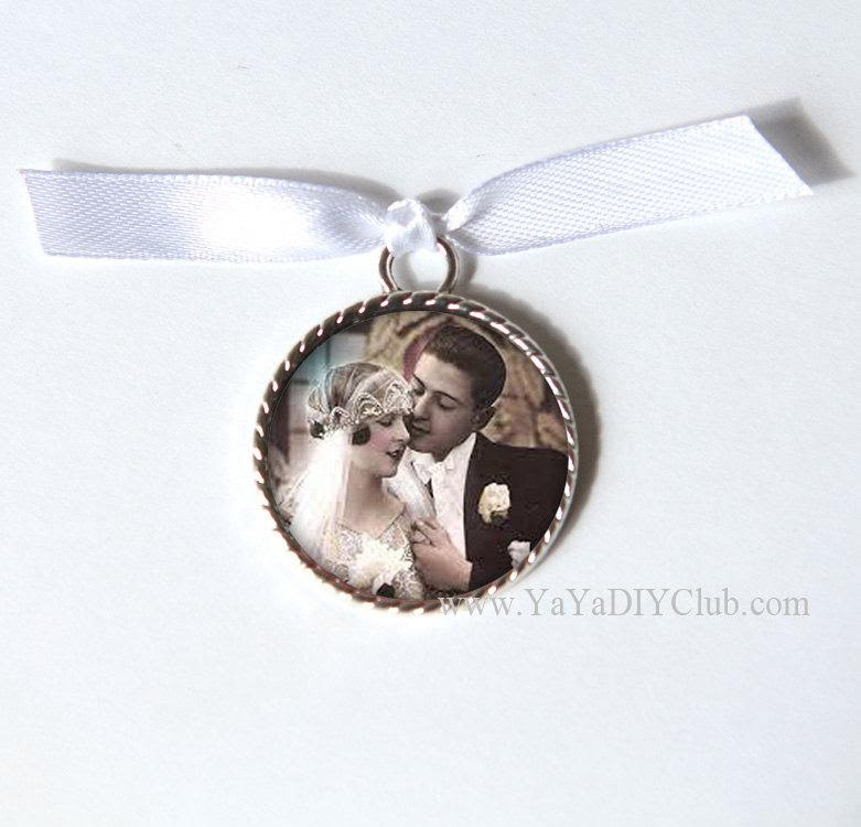 Bridal Bouquet Charm Wedding Bouquet Charm Wedding Memorial