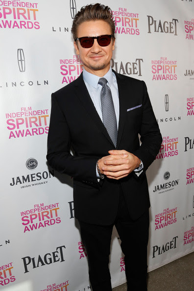 Jeremy Renner - 2013 Film Independent Filmmaker Grant And Spirit Award Nominees Brunch - Red Carpet