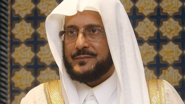 The former head of Saudi Arabia's Committee for the Promotion of Virtue and the Prevention of Vice, Abdul Latif Abdul Aziz al-Sheikh, pictured in 2012.