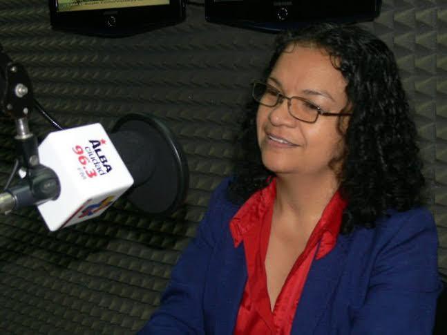 Resaltó Alejandrina Reyes el espíritu del pueblo venezolano al votar sobrepasando todas las adversidades
