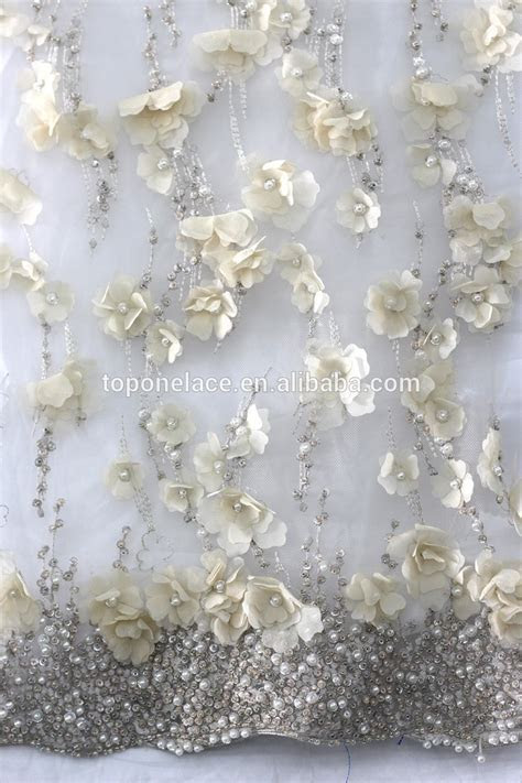 2016 China Wholesale Beaded Tulle Fabric/brocade Lace