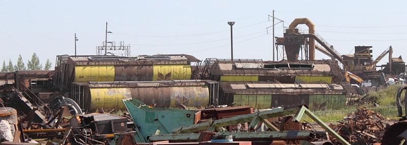 Evraz Government of Canada grain cars scrap