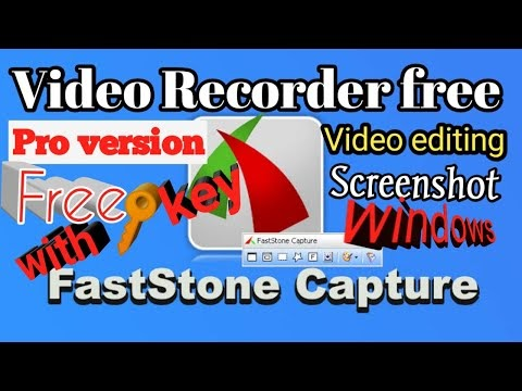 How to video recording and screenshot windows pc FastStone Capture very easy by softichnic