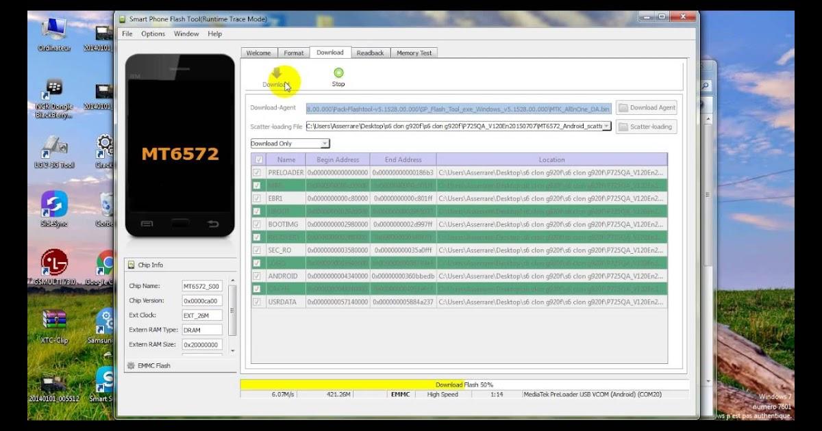 Mt6572 Flash Tool
