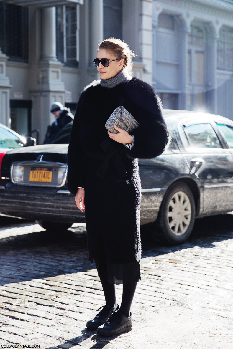 Street Style New York Fashion Week Fall Winter 2014 2015 Day 2 The Wonderful World Of Fashion