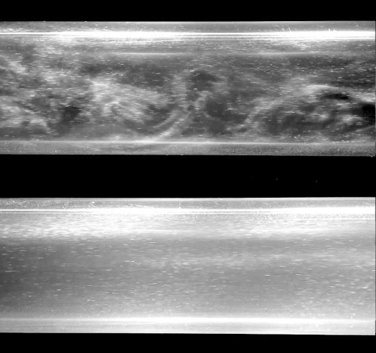 Turbulência domada dentro de canos reduz 95% da energia do bombeamento