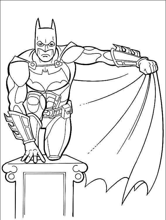 Batman Boyama Sayfasi 9 Okul öncesi Etkinlik Faliyetleri