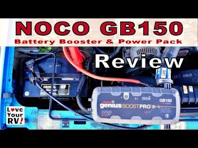 Love your RV videos: NOCO GB150 Battery Booster Review, Boondocking Power Tip, Lensun Remote Solar Ground Panel Mod, & Cibola National Wildlife Refuge