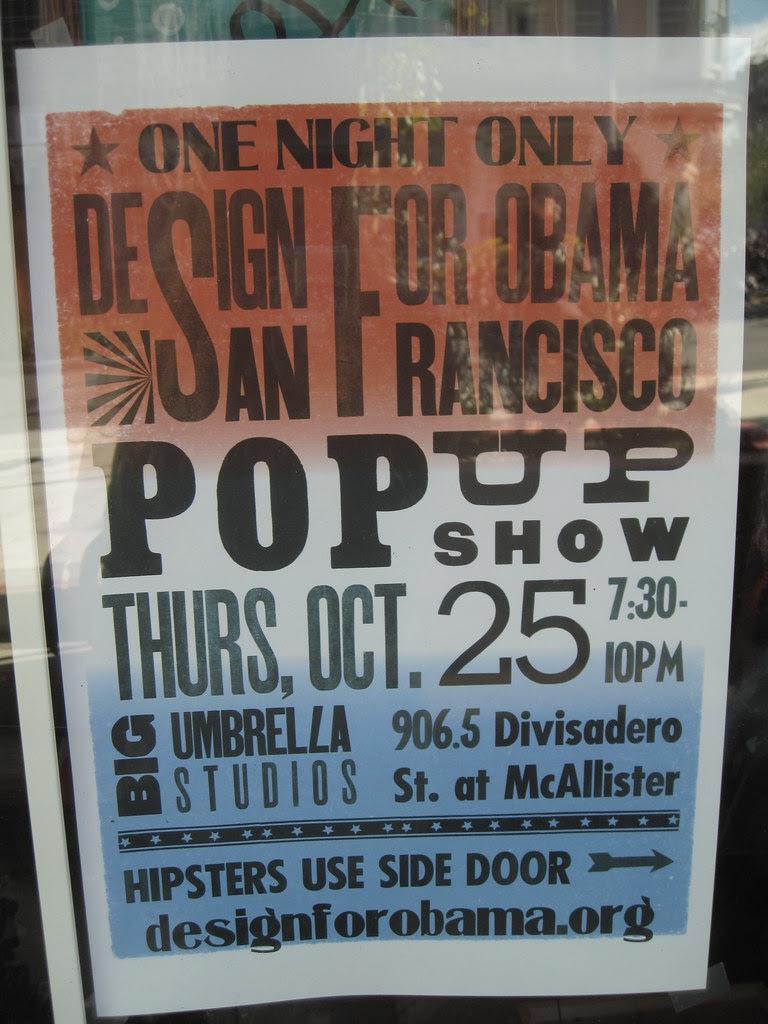posters y presidential politics.