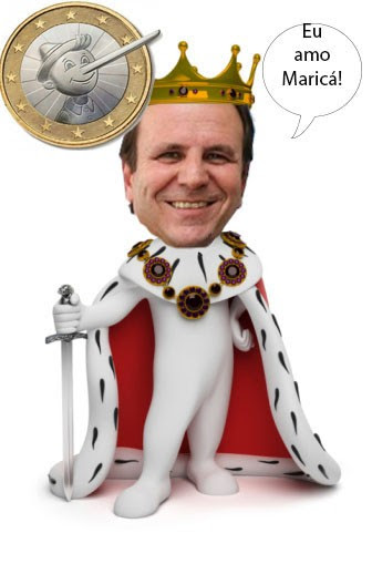 Prefeito Eduardo Paes o rei entre a plebe