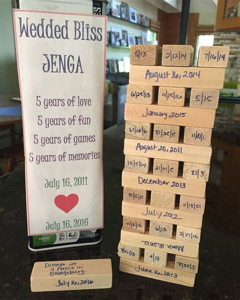Celebrate your fifth anniversary with the traditional gift