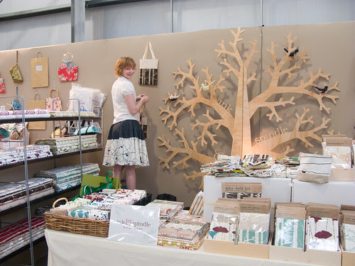 Ink & Spindle stall at the Stitches & Craft Show