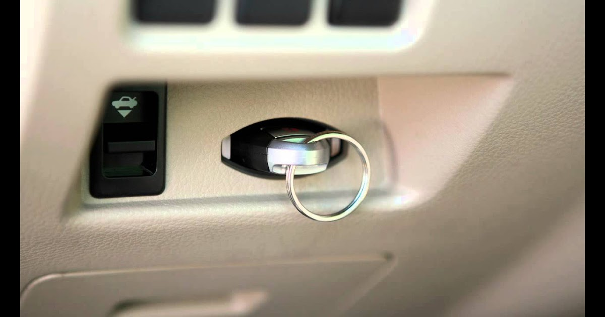 How To Start Nissan Altima With Key