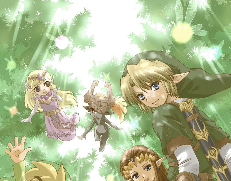 the castle of games   zelda my zelda  poem