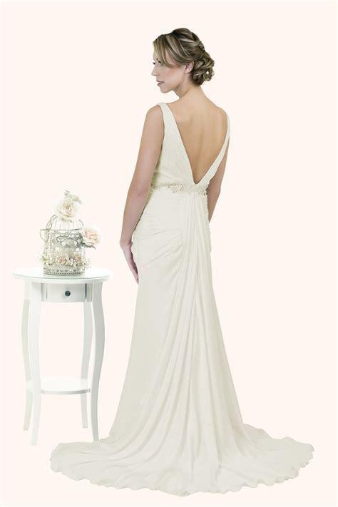 Pippa   Art Deco Wedding Dress